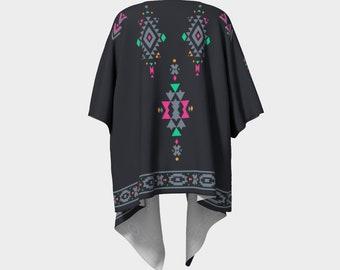 Ala Mhigan Kimono - Chiffon