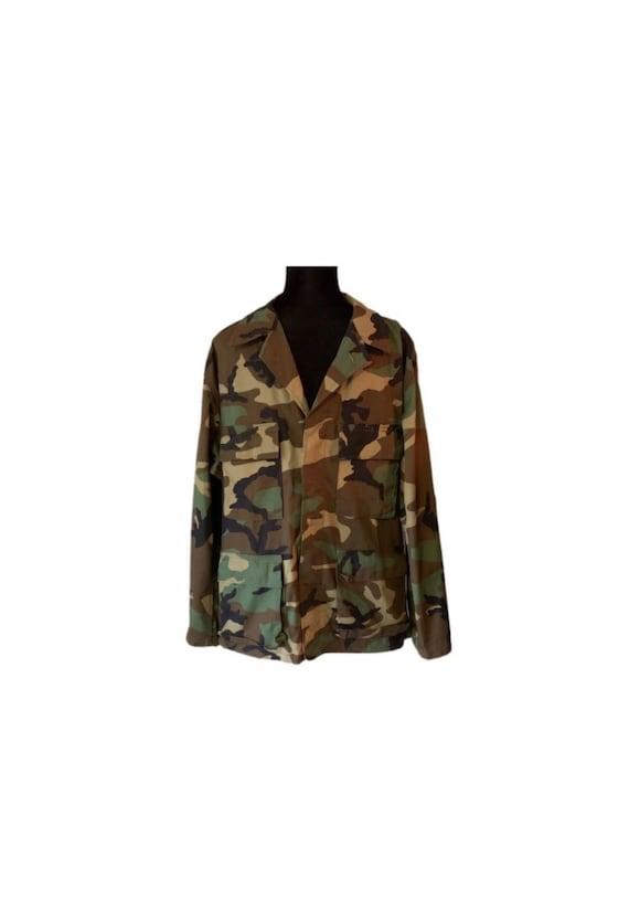 Army Jacket   Camouflage   Camo Jacket   90s   Mil