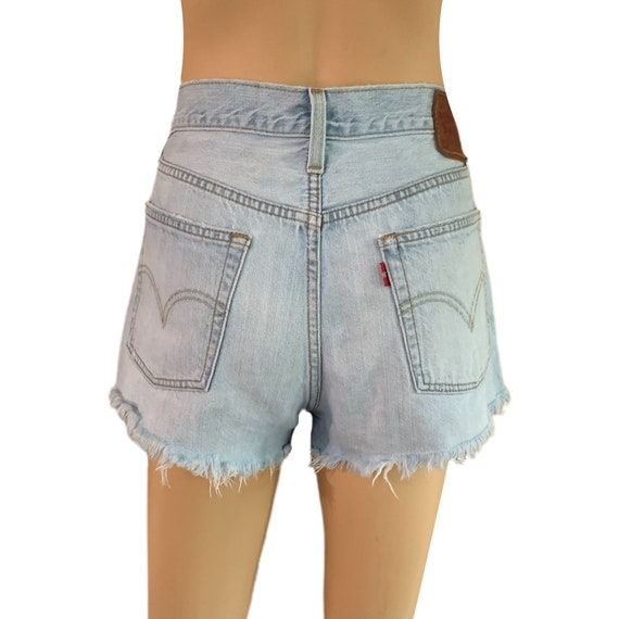 Levi's 501 Cutoff Shorts Button-Fly Vintage 90s H… - image 6