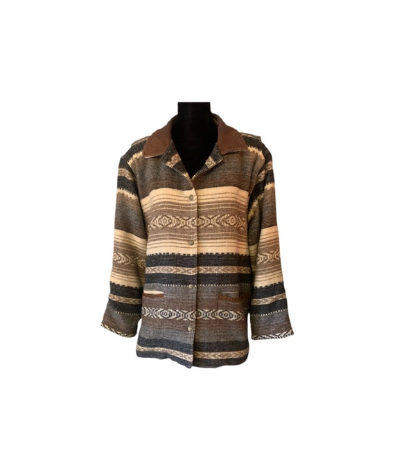 Wool Jacket | Woolrich | Indian Blanket Jacket | 8