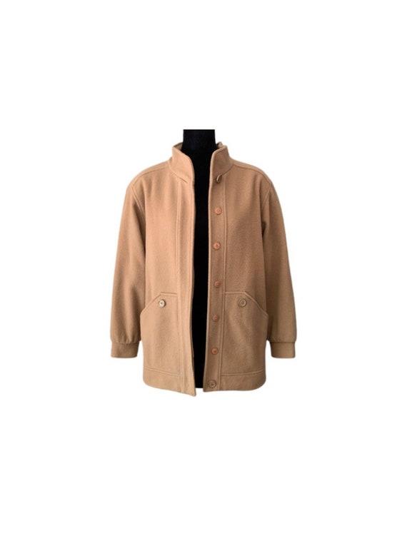 Coat | Mackintosh | Camel | Wool Coat | 80s | Mack