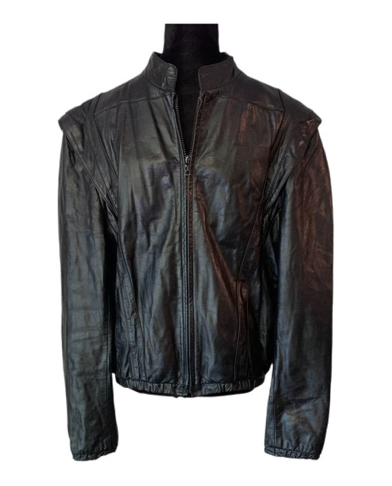 Leather Jacket - Casablanca Leather Jacket - Vinta