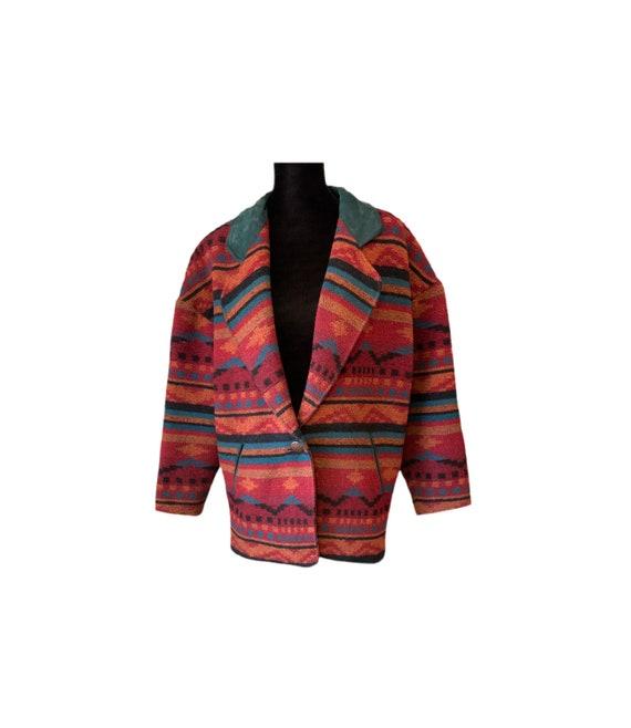 Wool Jacket | Pioneer Wear | Indian Blanket Jacket