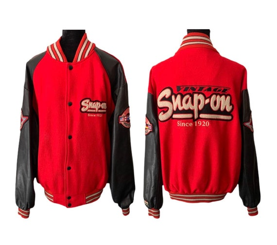 Letterman Jacket | Snap-On Tools | Snap-On Racing… - image 1