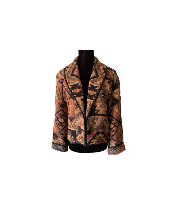 Western Jacket | Flashback | Indian Blanket Jacket