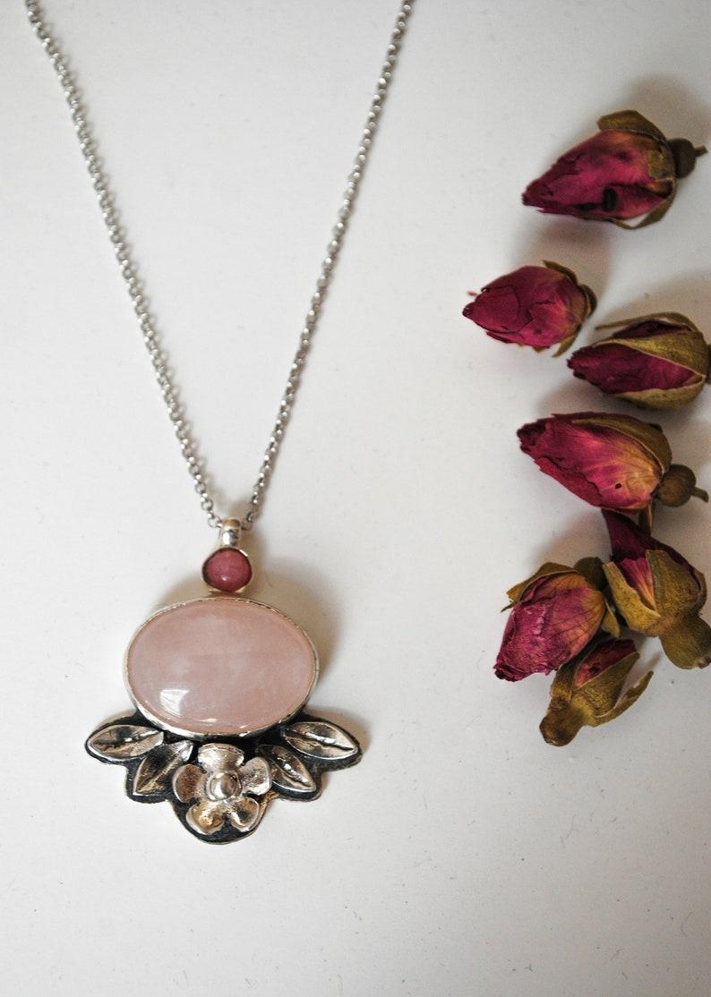 f91f5686b Secret Garden Necklace/Flowers/Gift/Romantic/Romance/Natural | Etsy