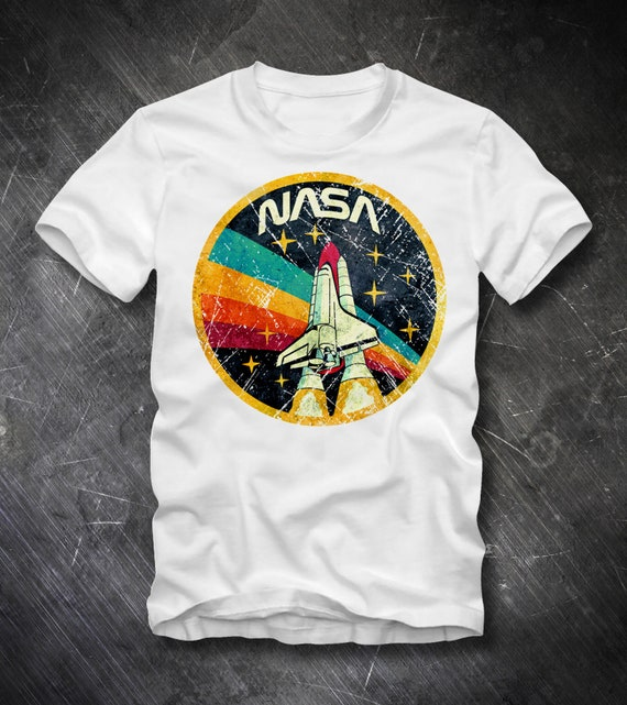 NASA APOLLO SOYUZ COME TOGETHER Licensed Adult Heather T-Shirt All Sizes