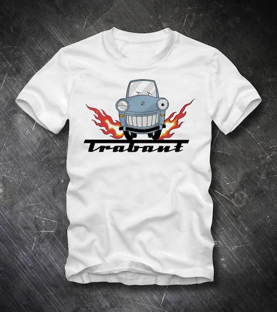 Trabant German Democratic Republic Cult Car Brand GDR Retro T Shirt 141