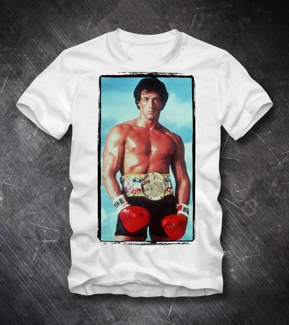 ROCKY T Shirt Rocky Balboa Apollo Creed Stallone
