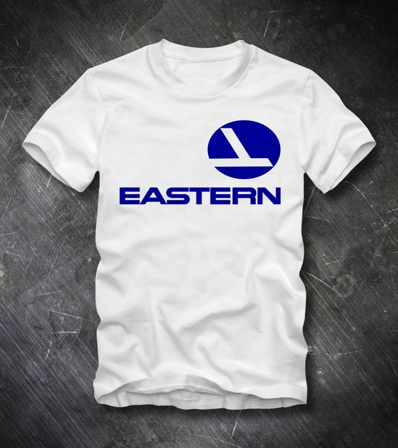 Eastern Airlines T Shirt Pan Am Airways Logo Airport Plane Etsy