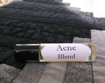 Acne Blend Essential Oil Roller Bottle