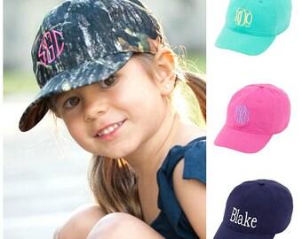 Monogrammed Kids Baseball Hat fb912af08937