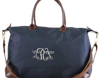 Monogrammed Nylon Travel Bag d1841bb3f603