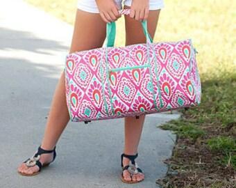 8aa1ee773368 Monogrammed Beachy Keen Duffel Bag