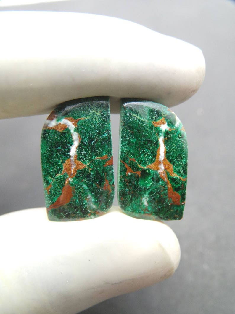 Sonora Chrysocolla Cabochon Wholesale #746 20x12 MM Sonora Chrysocolla Gemstone Cabochons Sonora Chrysocolla Smooth Fancy Cabochon