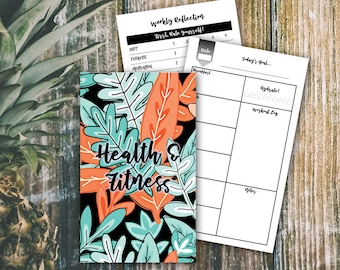 WIDE/CAHIER  >>  Health & Fitness Journal  >>  TN Health and Fitness Insert  >>  Health Journal + Fitness Log