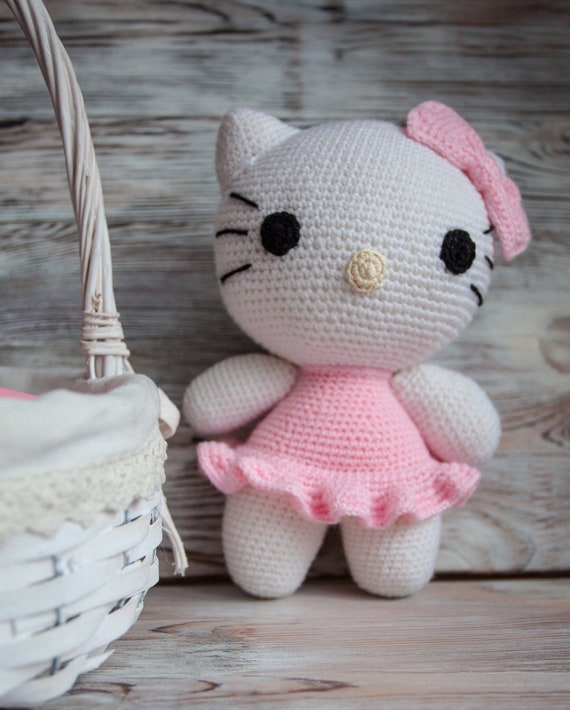 Hallo Kitty Häkeln Hello Kitty Hallo Kätzchen Etsy
