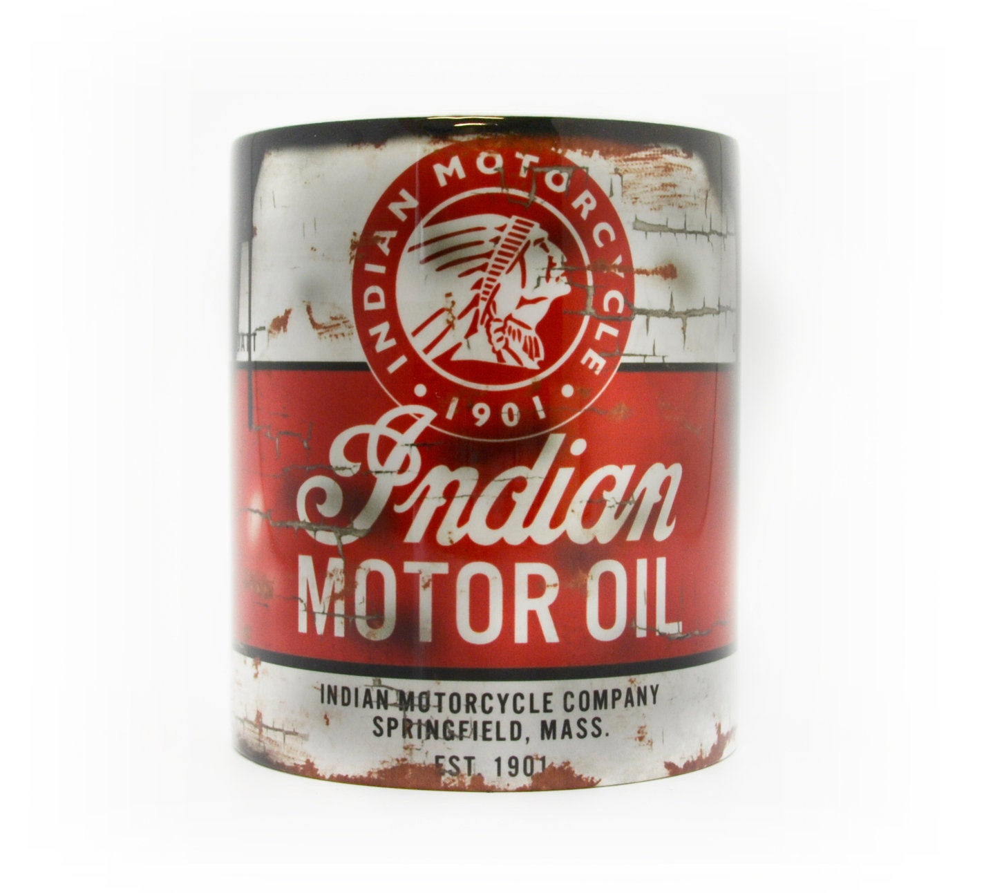 Retro Kalex Moto Motorcycle Racing Oil Can Mug Tea Coffee Mug