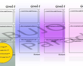 A5-Weight Loss Pack-11 Pages-Lucida Handwriting-5 Colours to choose from- Meal Plan/Food Diary/Weight Loss Tracker/Recipes to try.AND MORE!