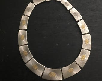 Buccellati Geminato Panel Necklace