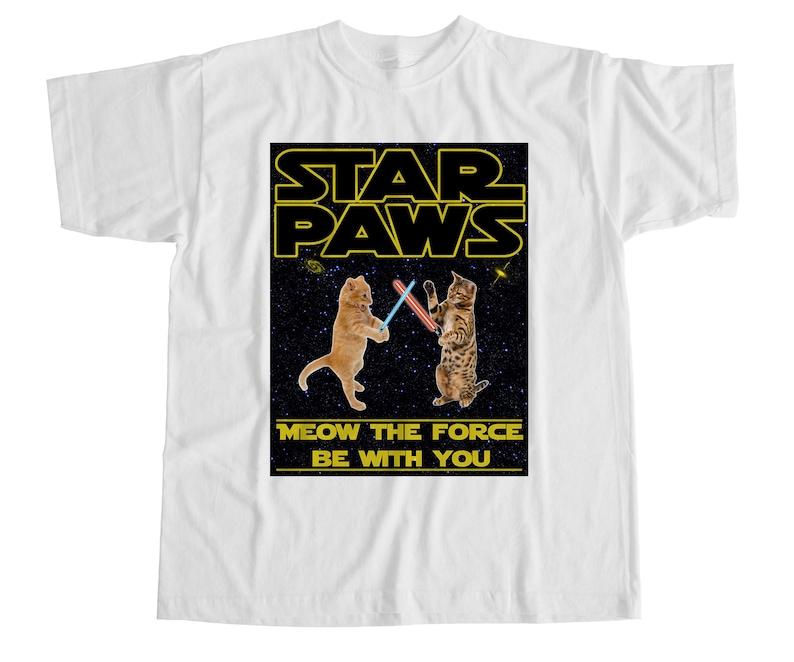 Star Paws T Star Shirt Shirt ParodyEtsy Star ParodyEtsy Paws Paws T yv8nwmN0O