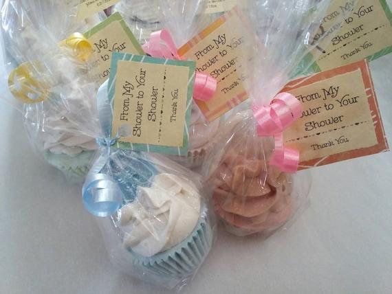 Bridal Baby Shower Mini Cupcake Organic Soap Favor Wedding Birthday
