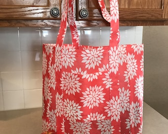 Handmade Shopping Bag - Reusable & Washable - Great Gifts - FREE SHIPPING!