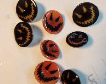 Scary happy pins