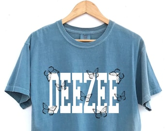 Delta Zeta // DeeZee // The Keely Butterfly Sorority Shirt // Comfort Colors // More Colors Available!
