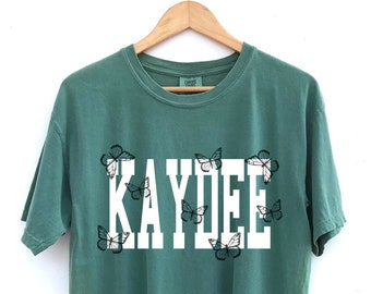 Kappa Delta // Kaydee // The Keely Butterfly Sorority Shirt // Comfort Colors // More Colors Available!
