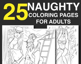25 Naughty Coloring Pages For Adults