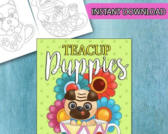 BEST VALUE 35 Cute Dog Coloring Pages