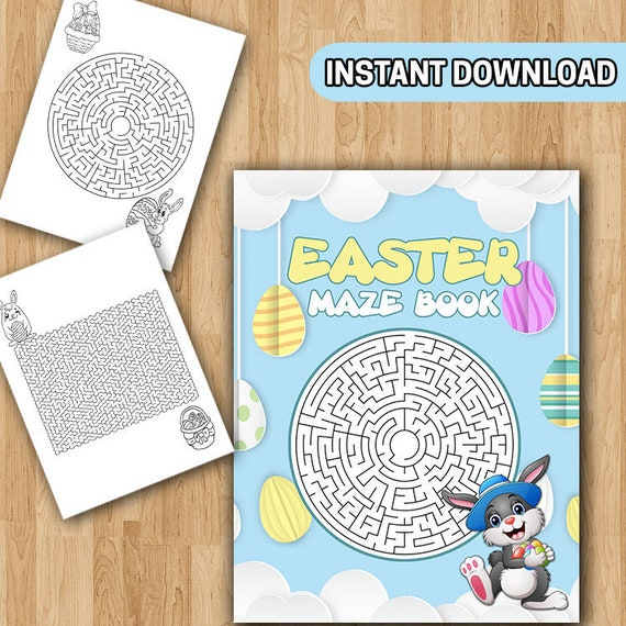 Easter maze coloring sheet | Printable mazes, Mazes for kids ... | 570x570