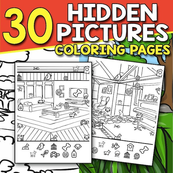 Tree of Life - Hidden Pictures – LDS Coloring Pages | 570x570
