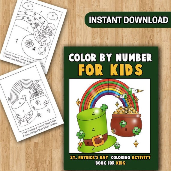 Free Printable St. Patrick's Day Coloring Pages - Oh My Creative   570x570