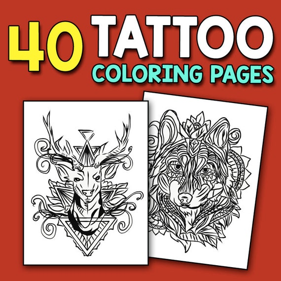 Masculine Coloring Book For Men Adult Activity Coloring Book Etsy