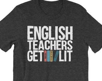 Selected Poems English Teachers Get Lit Shirt