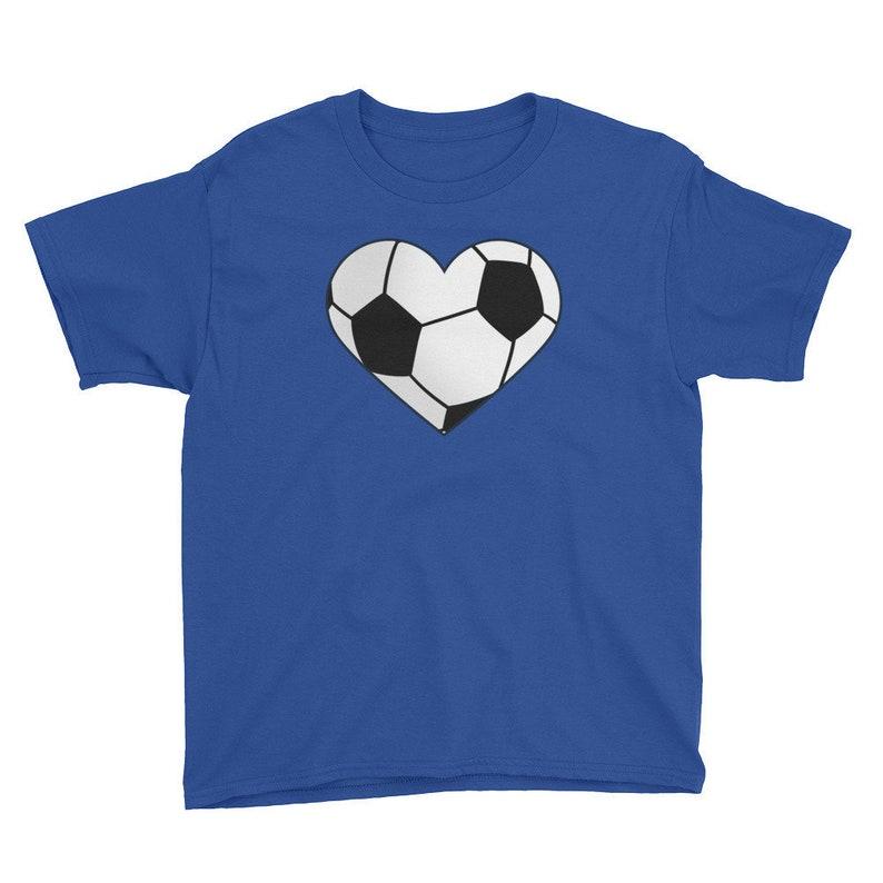 bea838b8b Kids' Soccer Shirt-Youth Soccer Shirt for Girls-Soccer   Etsy