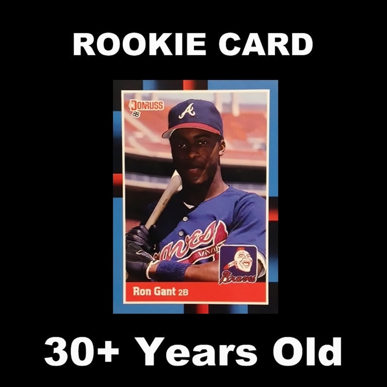 1988 Score Baseball Rookie Card #647 Ron Gant