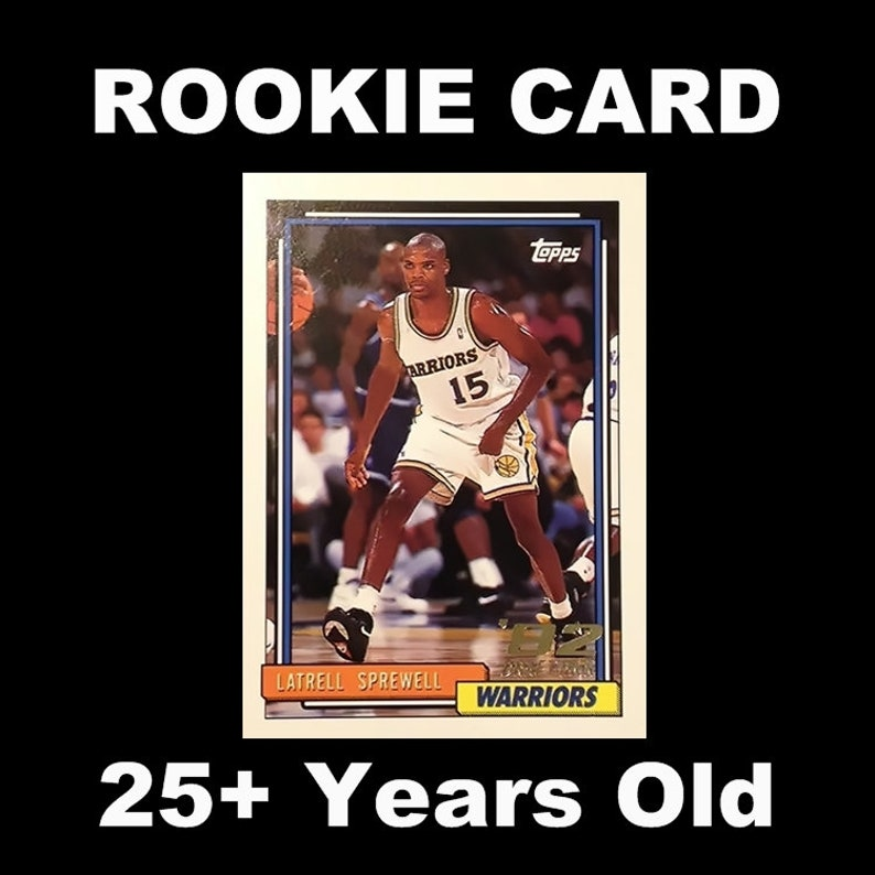 92 93 Topps Latrell Spreewell Rookie Card 392