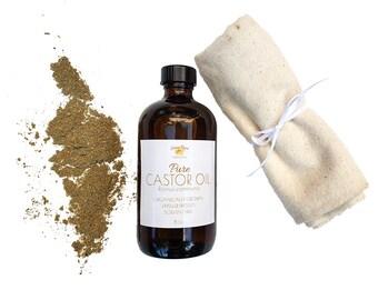 Herbal Castor Oil Pack