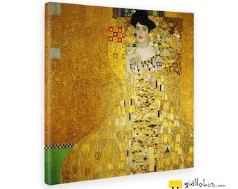 Canvas painting canvas-Gustav KLIMT-Portrait of Adele Bloch-Bauer I-Yellow BUS