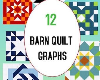 Barn Quilt Patterns Etsy