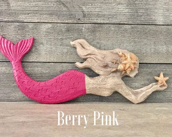 Mermaid Wall Decor - Beach Decor - Mermaid Bathroom - Nursery - Coastal - Beach House - Nautical - Mermaid Wall Art - Mermaids
