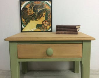 Solid Pine Occasional Side Table