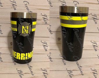 Fire Fighter 20 ounce Tumbler