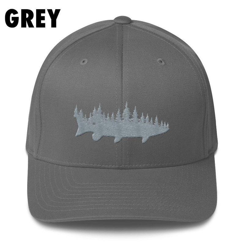 fb551402d5eea Muskie Fishing Hat Musky Fishing Hat Muskellunge Hat