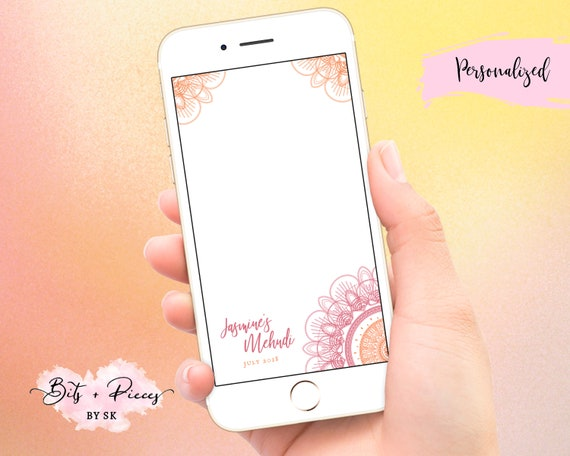 Customize for any event! Jasmine SnapChat Filter