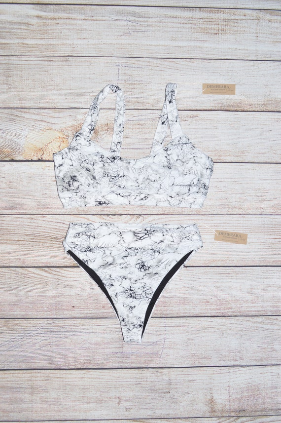 f74a0d2fdf Halia Two-Piece Swimsuit Marble