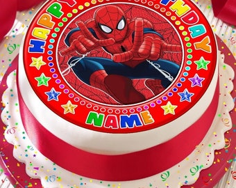 Spiderman Cake Etsy